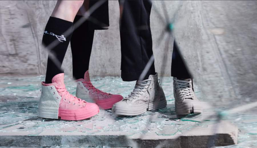 Converse X Feng Chen Wang REBORN FROM THE RUBBLE