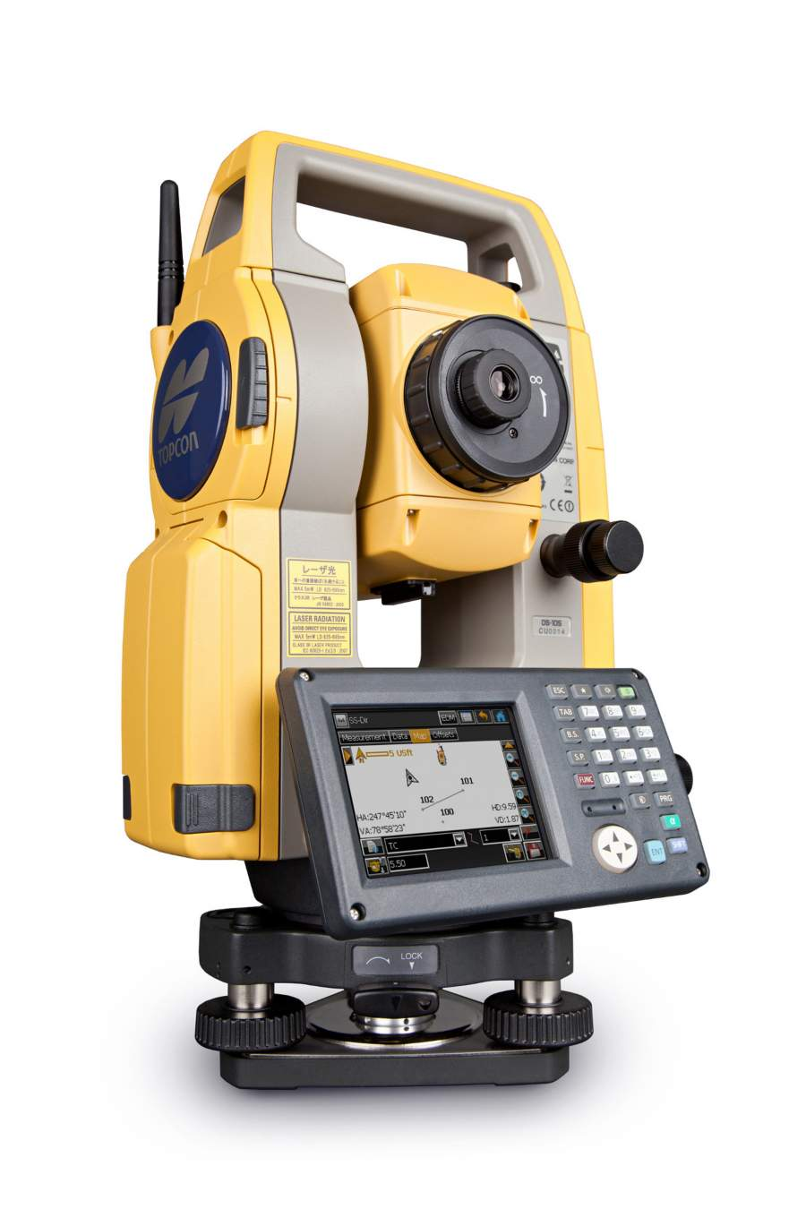 The Topcon OS Series Total Station is equipped with multiple class-leading features, including a powerful reflectorless EDM, large LCD touchscreen and smart on-board software.