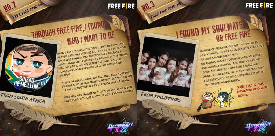Join us as we look back at the highlights from Free Fire's 4th anniversary celebrations