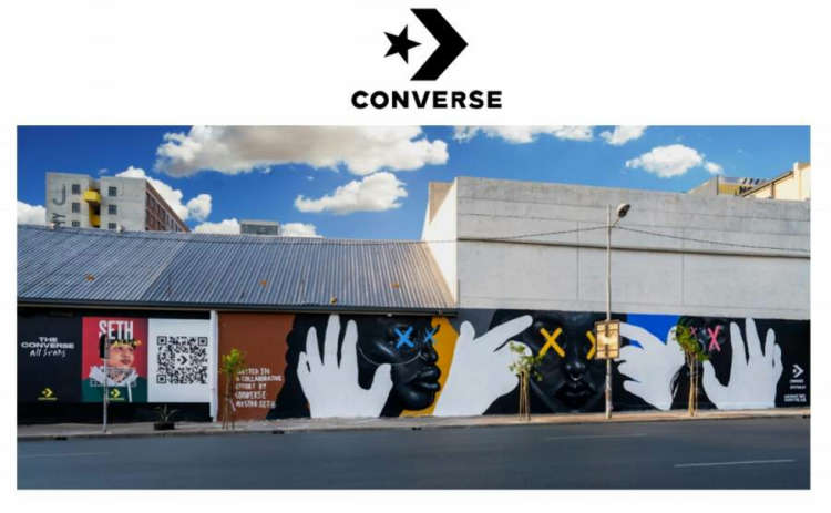 Converse Cleans the Air in Cities Across the Globe Through Sustainable Street Art