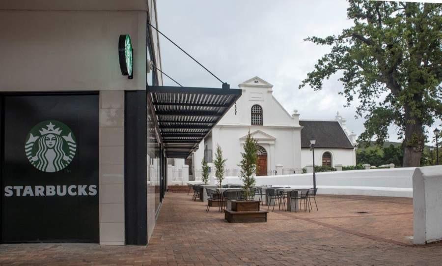 Starbucks takes iconic brand to wine country in Stellenbosch