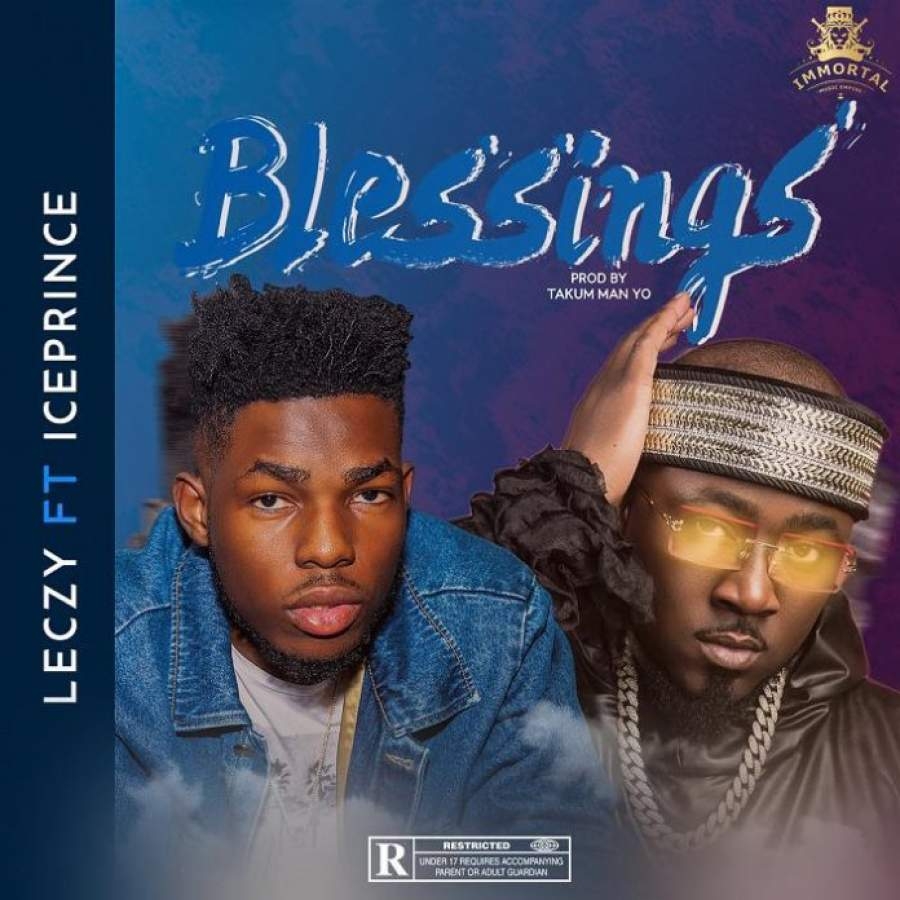 LECZY SHOWS GRATITUDE FOR HIS BLESSINGS in a new single featuring Ice Prince