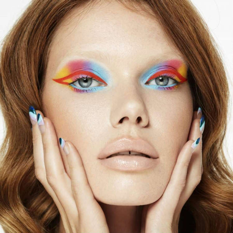 Summers hottest trends_make-up trends showing face in 2021