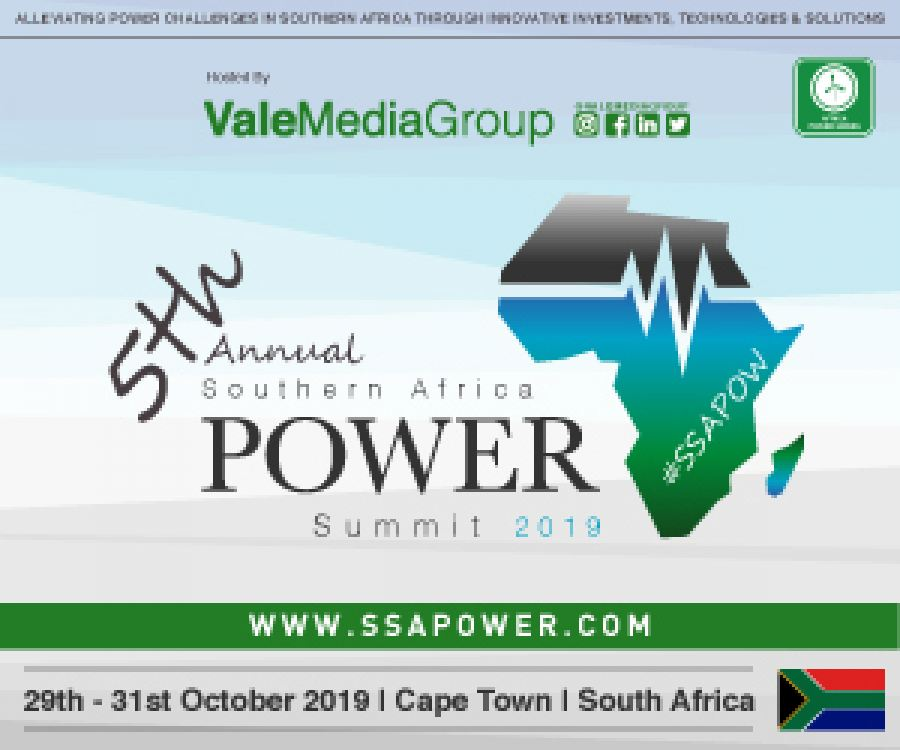 Call for papers is Open! The 5th Annual Southern Africa Power Summit 2019.  #SSAPOW19 29th-31st October Cape Town.