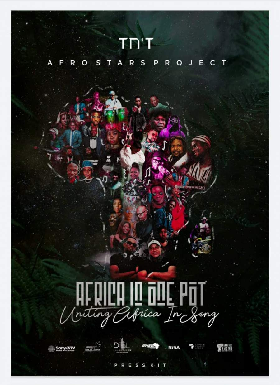 TN'T Teams up with different artists to unite Africa through music