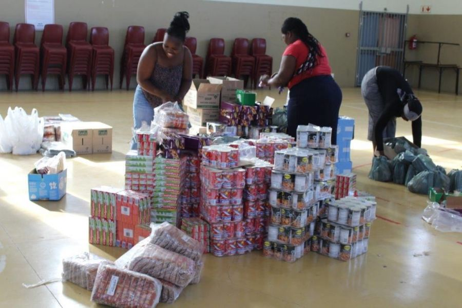 Lifting spirits during lockdown - Cans with Purpose have raised R350K for hungry families and they want to do more