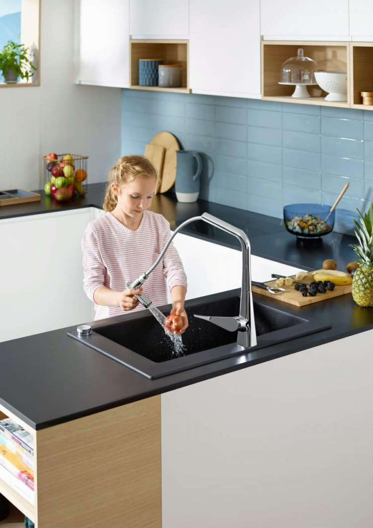 The heart of your home, hansgrohe redefines your kitchen