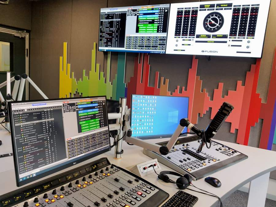 KMVTech provided East Coast Radio with a simple, reliable and easy-to-use studio solution.