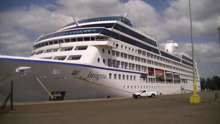 The passenger liner MS INSIGNIA was the first ship to be brought into the Port of Richards Bay on 26 November using TNPA's Integrated Port Management System.