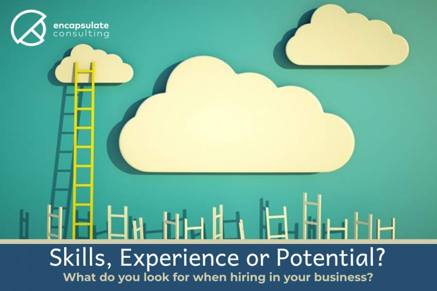 What do you hire for?- Skills, experience or potential?
