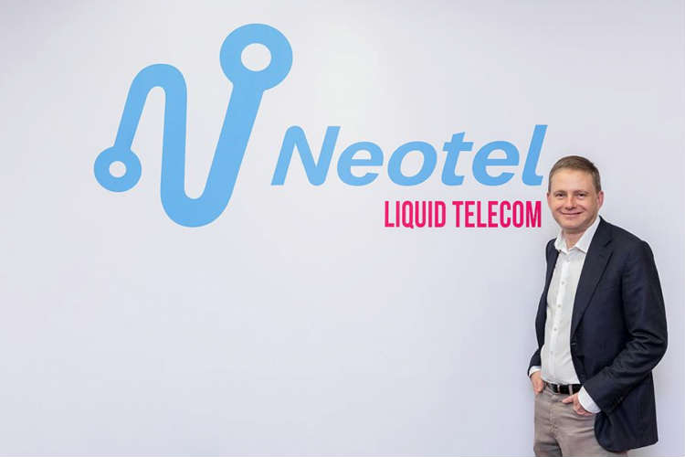 Nic Rudnick, Group CEO of Liquid Telecom, at the official Neotel launch