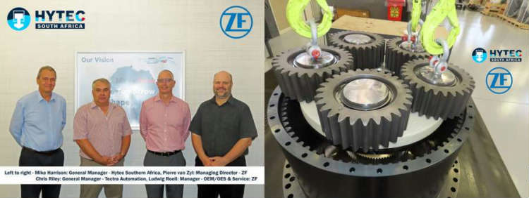 Hytec re-appointed as ZF Group's Service Partner