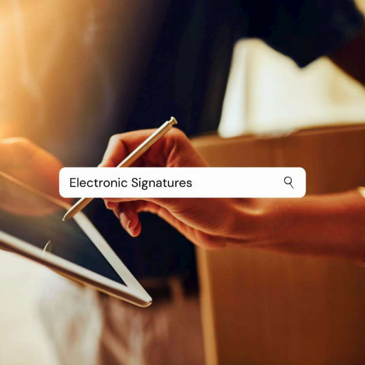 Electronic signature software South Africa