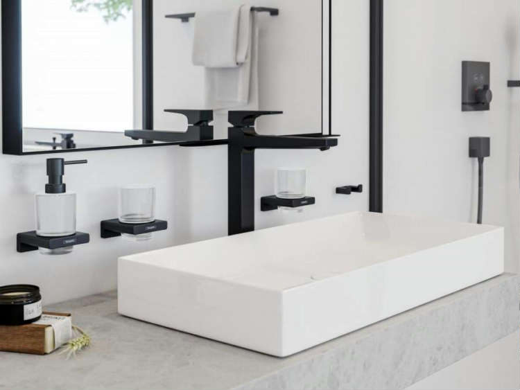 Achieving an Individual and Harmonious Bathroom Design with hansgrohe AddStoris