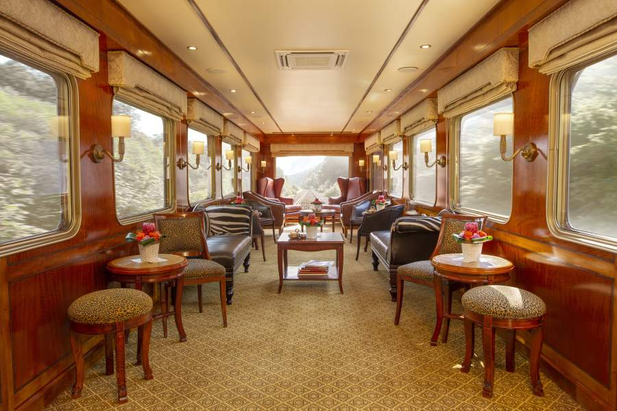 Dine differently onboard The Blue Train