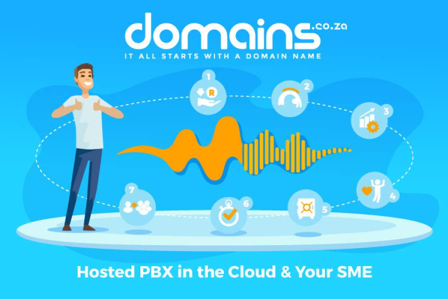 7 Ways as to how Hosted PBX in the Cloud by Domains.co.za will add value to your SME