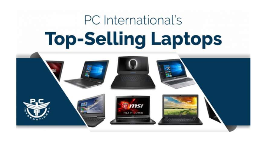 Top Selling Laptop Brands from PC International
