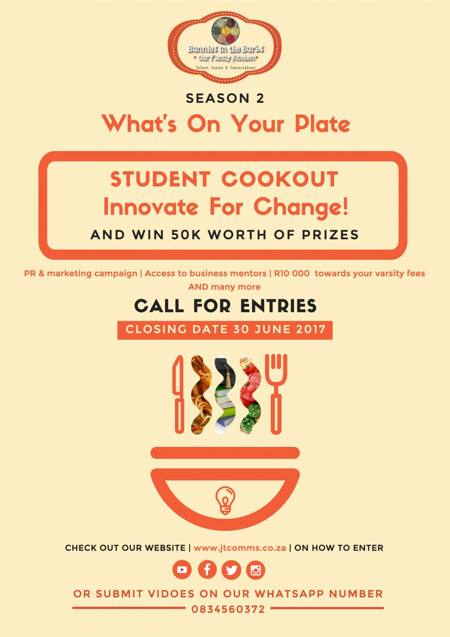 What's On your Plate highlights student innovation this Youth Month