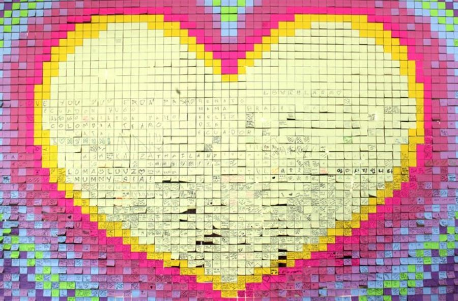 3M Wall of Love