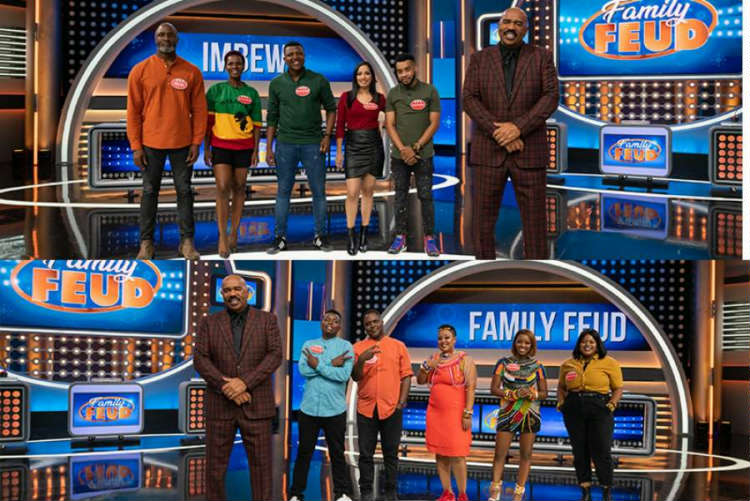eTV celebrities from Imbewu and Durban Gen face off this week in Family Feud as they compete to win for their chosen charities