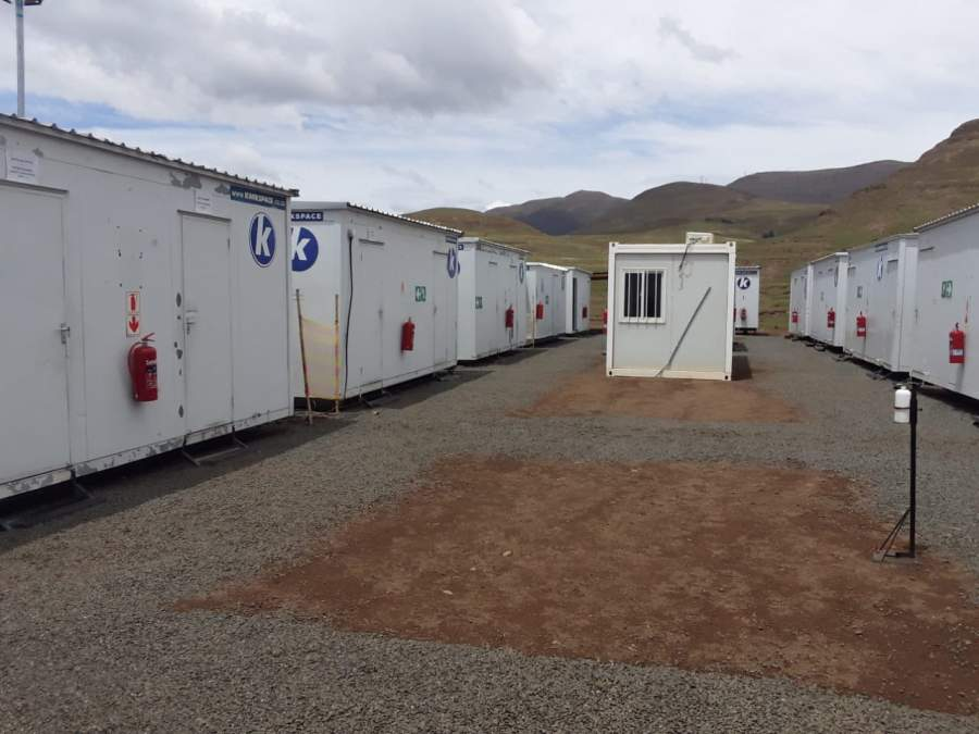 Kwikspace supplied 40 prefabricated buildings to a remote accommodation in Lesotho, in under six weeks.