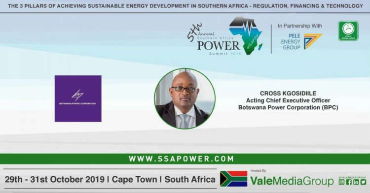 Botswana Power Corporation confirm their participation for the upcoming 5th Annual Southern Africa Power Summit 2019! #SSAPOW19.