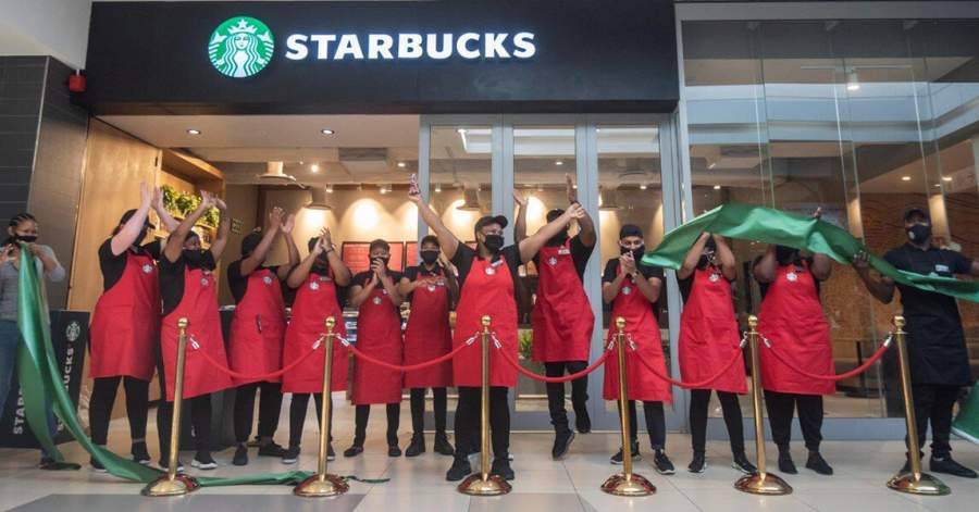 Cape Town's third of six Starbucks stores opens in Tyger Valley Shopping Centre