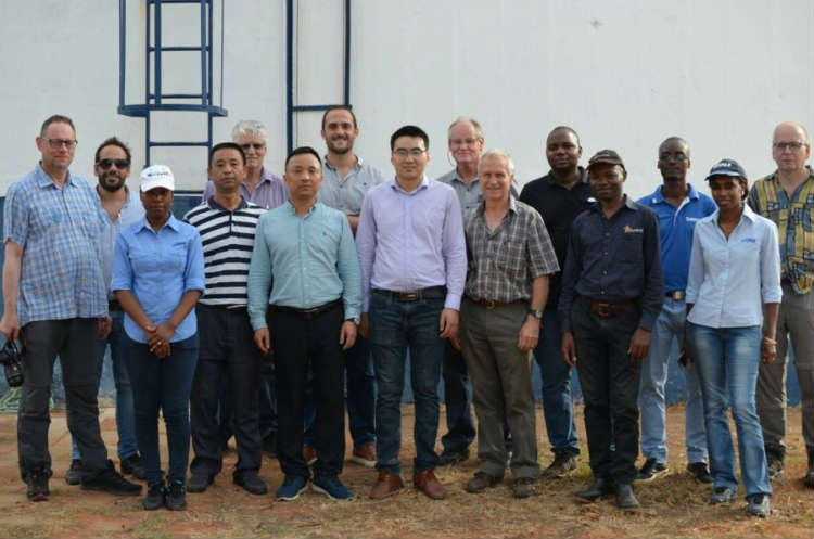 Pemba team at the kick off meeting for the project