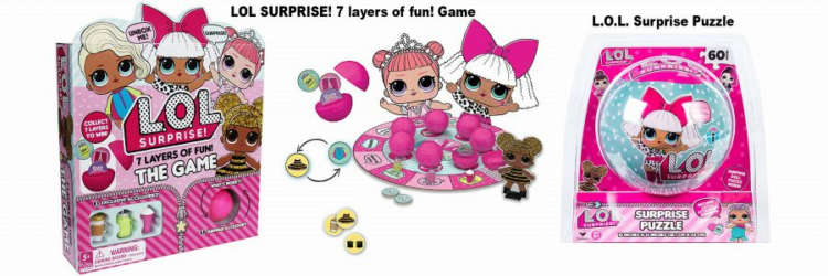 Prima Toys launches new L.O.L. Surprise Toys and Games