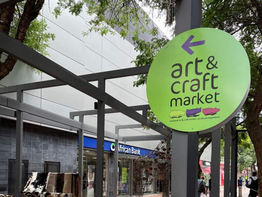 Go proudly local at the vibrant new African Lane in Rosebank