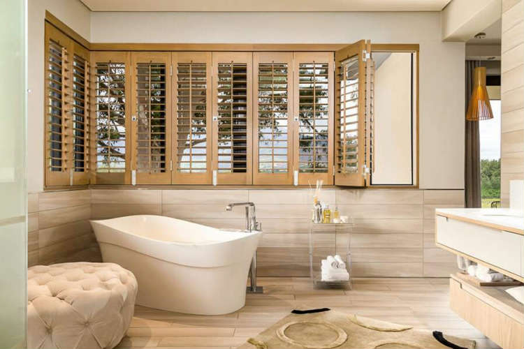 Add timeless elegance to your home with timber plantation shutters