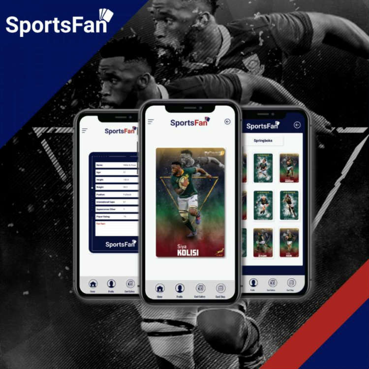 Springbok Autographed Cards - in the palm of your hand