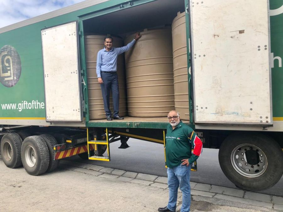 Engen partners with Gift of The Givers to assist drought-stricken Makhanda community