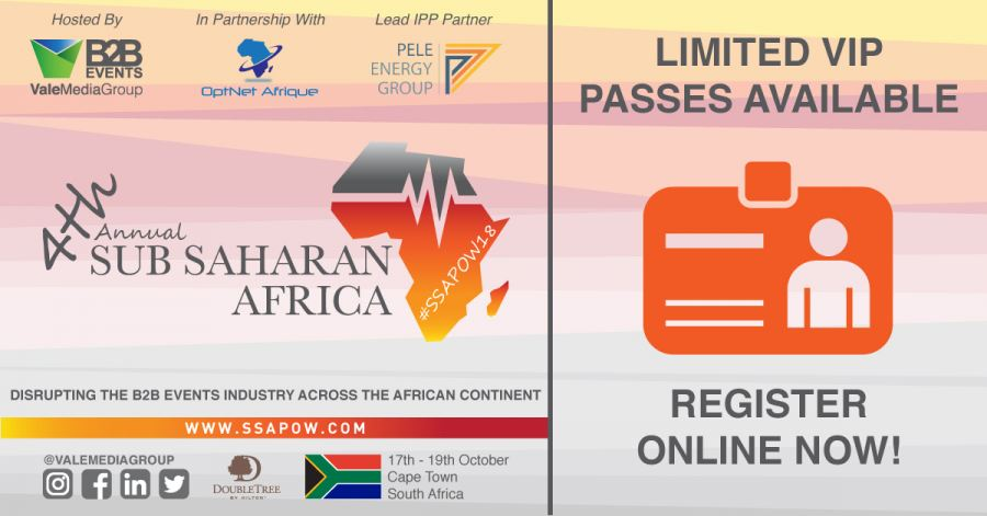 **** Breaking News! The#SSAPOW18Summit,Cape Town,SouthAfrica, 17th to 19thOctober 2018**** VMG have released a limited number of extra positions.