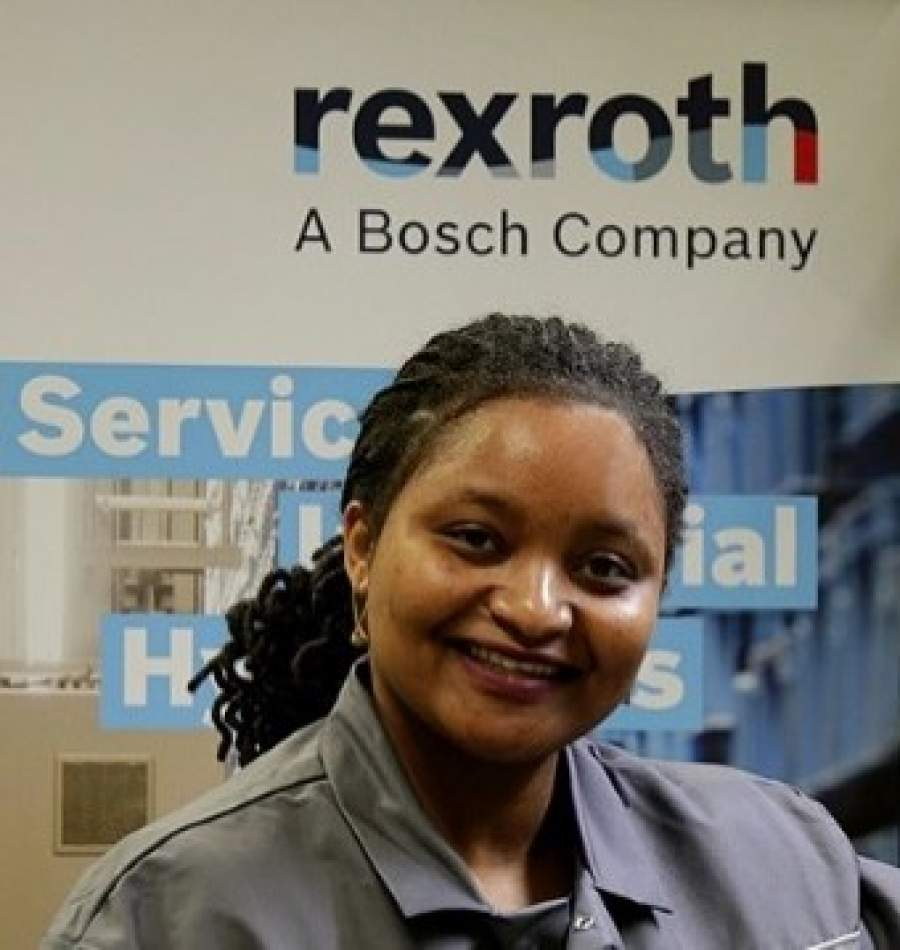 Melvis Wachira, recently appointed Country Manager, Bosch Rexroth                         Kenya