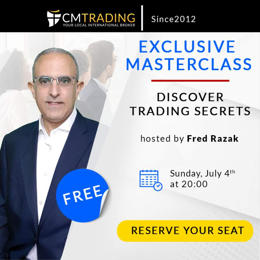 Exclusive Masterclass - discover trading secrets with CMTrading
