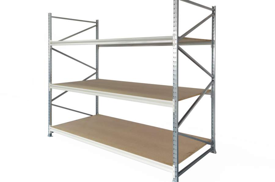 The new generation of longspan shelves feature improved versatility with                          a large selection of accessories that enhance system flexibility to any light                          duty storage requirement.