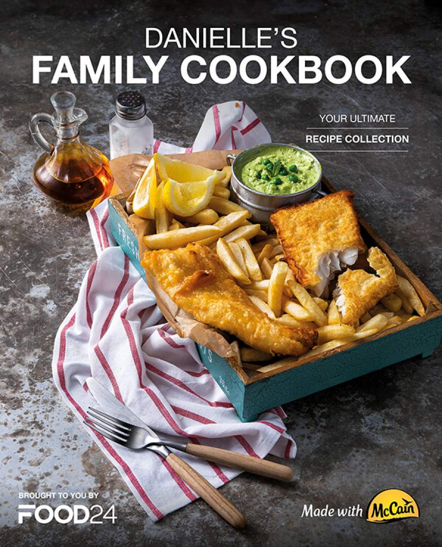 Tradition meets technology - introducing your new family cookbook, made with McCain