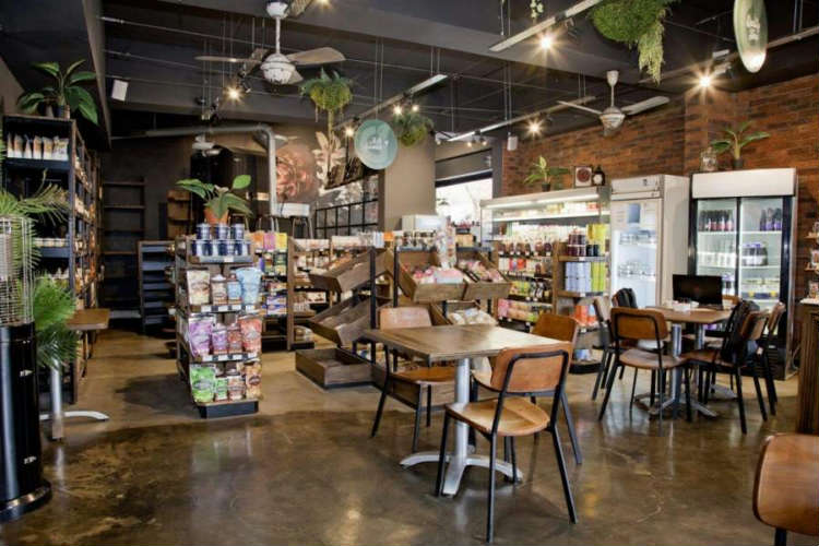 The Gourmet Grocer new old-style décor and expanded offerings