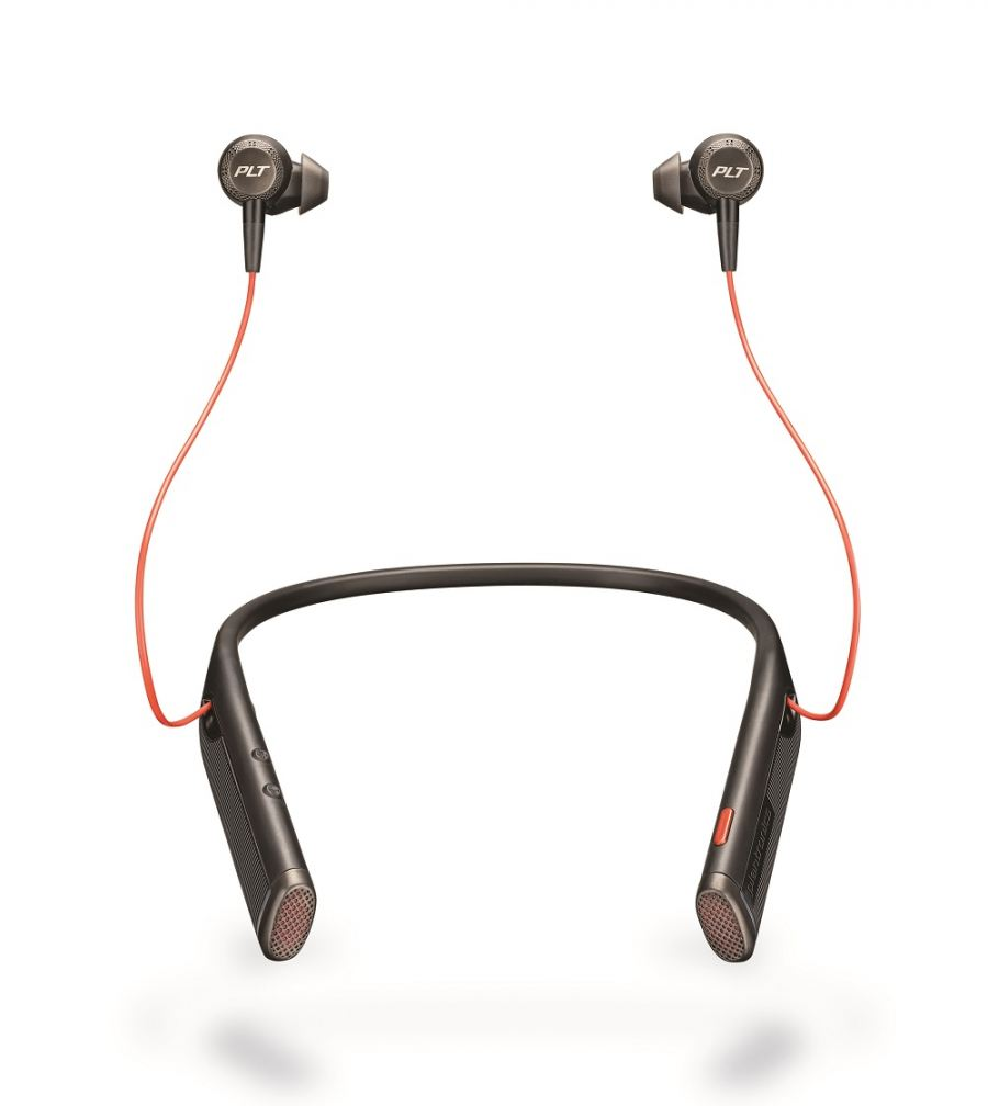 Plantronics introduces its first Bluetooth Neckband Headset with Earbuds: Voyager 6200 UC