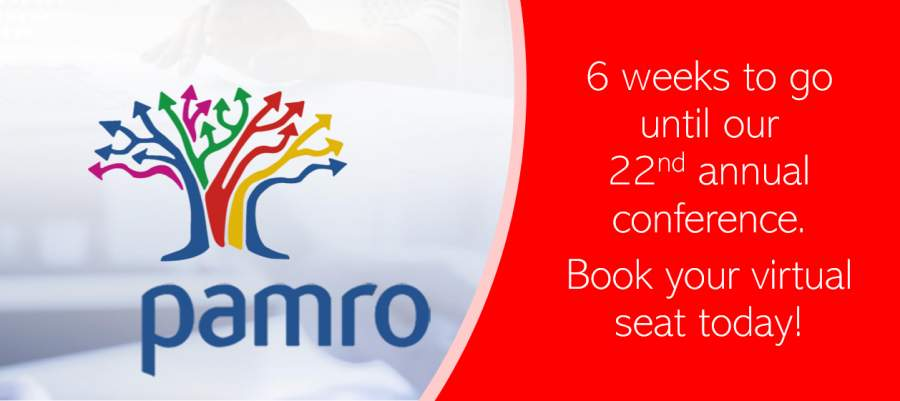 PAMRO   6 week countdown to 22nd annual conference