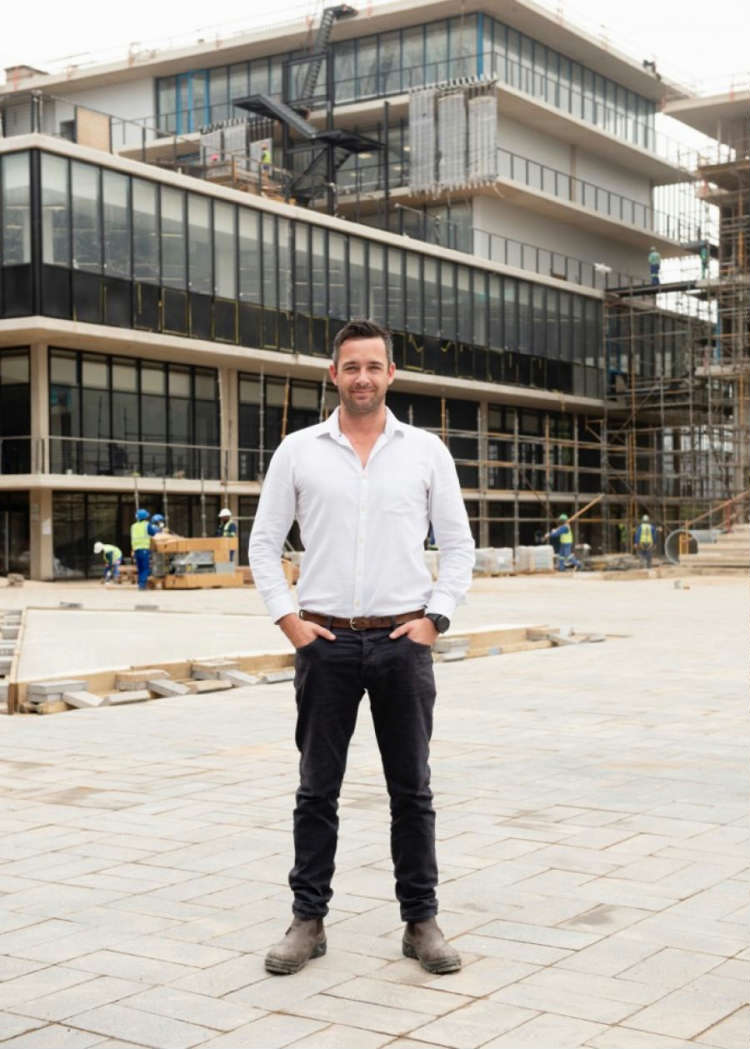 Jarryd Murray MAP Architects Director and co-founder.