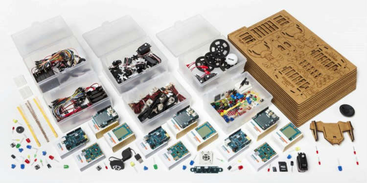 Arduino Education Kit for young students aids technology learning