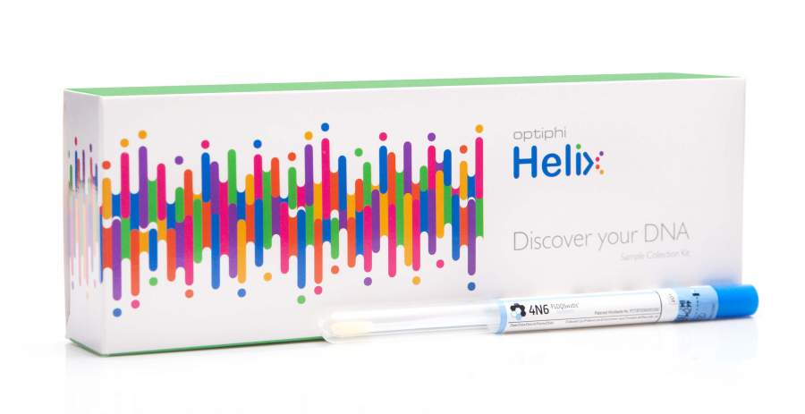 optiphi launches their Helix Breast, Ovarian and Prostate cancer risk test