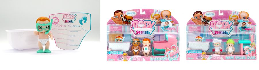 Baby Secrets – the new collectibles on the block