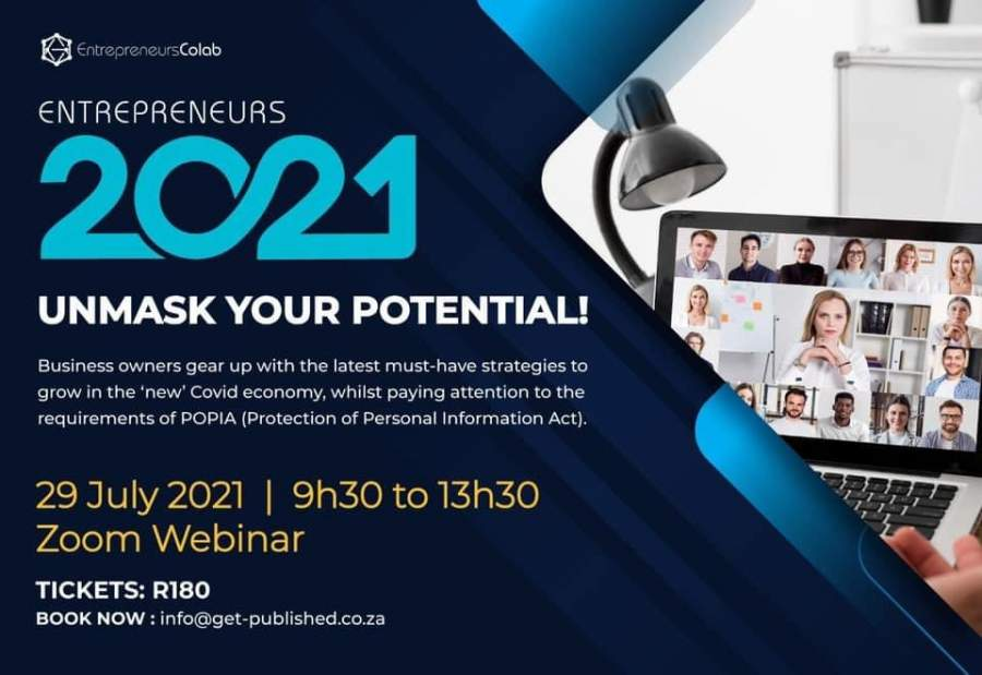 Unmask Your Potential at the Entrepreneurs2021 Summit