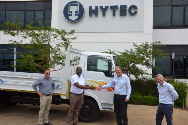 Hytec South Africa Donates Truck to TT Thermal Suppliers