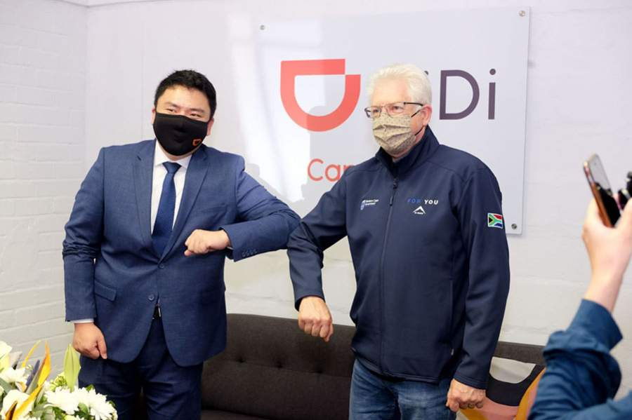 Premier Alan Winde Welcomes DiDi to Cape Town