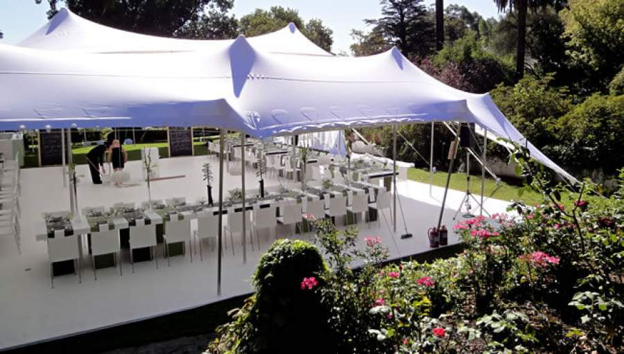 Stretch Tent Hire From Cozi Hiring