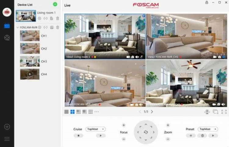 Foscam Video Management System - VMS